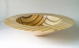 Black & Sycamore Angular Bowl